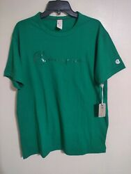 Todd Snyder Champion Sportswear Turf Green Made in Canada T Shirt Men#x27;s L New $39.99