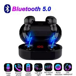 Wireless Earphones TWS Bluetooth 5.0 Earbuds Stereo In Ear For iPhone Samsung $17.97