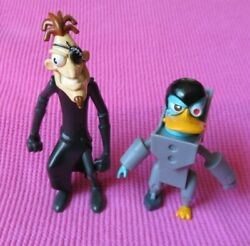Disney PHINEAS and FERB 2nd DIMENSION PERRY amp; DOOFENSHMIRTZ FIGURES LOT $22.95