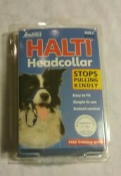 Halti Dog Head Collar Large Breed Dog Size 2 Stop Pulling Kindly Snout Black NEW $9.95