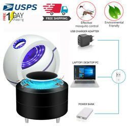 Bedroom USB Mosquito Insect Killer Trap Lamp LED Light Bug Zapper Pest Control $10.44