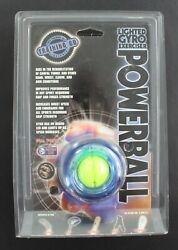 Dynaflex Lighted Gyro Therapeutic Exerciser Powerball New in Package $19.97