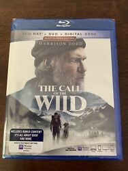 THE CALL OF THE WILD (2020DVDRELEASE) A SUPER FAMILY ADVENTUREFREE SHIPPING..