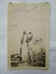 Sanborn Dock Boat Men Lake Okoboji IA Iowa Snapshot Photo $7.99