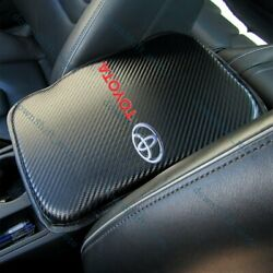 X1 For NEW TOYOTA Carbon Fiber Car Center Console Armrest Cushion Mat Pad Cover $15.99