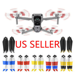 4Pcs Multicolor 7238F Low-Noise Quick Release Propellers For DJI Mavic Air 2 $10.95