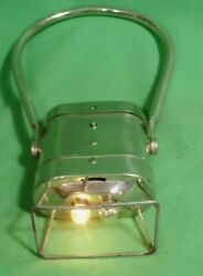 Vintage 1930#x27;s very rare Stream Line railroad lantern battery operated Works $49.99