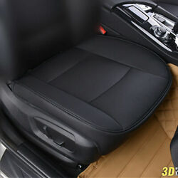 3D PU Leather Deluxe Car Cover Seat Protector Cushion Front Cover Universal US $24.43