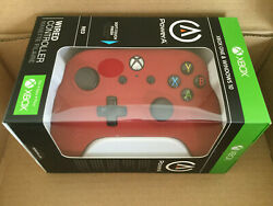 PowerA Wired Controller for Xbox One & Windows 10 Red Brand NEW ,Factory Sealed  $41.00