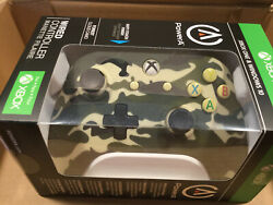 Power A Xbox One & Windows 10 Wired Controller - Forest Cloud Camo New , Sealed  $35.00