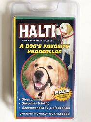 New HALTI sz3 Top Paw Canine Dog Head Collar w Manual Training Instructions $15.00