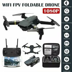 Drone X Pro Foldable Quadcopter Aircraft WIFI FPV 1080P Wide-Angle HD Camera+Bag $32.99
