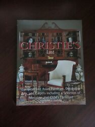 Christie's European and Asian Furniture Decorative Arts and Carpets $18.00