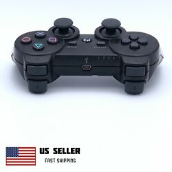 Wireless Controller Compatible With PS3 PlayStation 3 PC MAC Black $19.95
