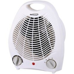 Brentwood Appliances H-F302W Portable Electric Space Heater and Fan (White) $40.04