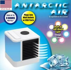 Portable Mini AC Air Conditioner Cooling Fan Personal Unit Humidifier Purifier $24.99