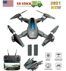 Holy Stone HS240 FPV Drone with 4K HD Camera Foldable RC Quadcopter 2 Batteries $75.99