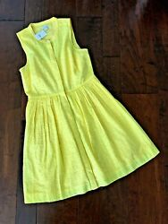 NEW Boutique J. By J.Crew Womens Sz 10 Summer Autumn Eyelet Dress Lined $ $8.99