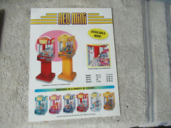 with stand odd size 11 8 3 8#x27;#x27; neo mini crane snk ARCADE GAME FLYER $5.49