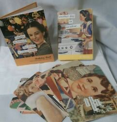 ANNE TAINTOR: ANOTHER DAY IN PARADISE 27 POSTCARDS &BIRTHDAYS SHE BELIEVED BOOK