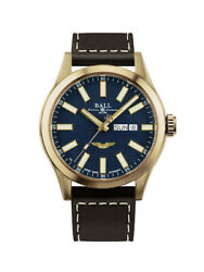 NEW BALL ENGINEER III BRONZE STAR 43MM BLUE DIAL USAF PILOT WINGS NM2186C-L4J-BE $1,695.00
