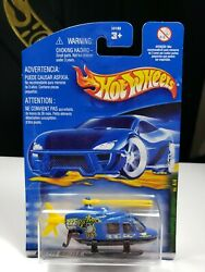 2001 HOT WHEELS PROPPER CHOPPER SKY HELICOPTER P4 C $7.55