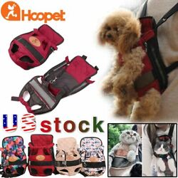 HOOPET Brand Pet Carrier Backpack Outdoor Travel Shoulder Bags for Small Dog Cat $12.99
