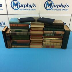 Lot of 10 Antique Collectible Vintage Old Rare Hard To Find Books *MIX UNSORTED* $23.99