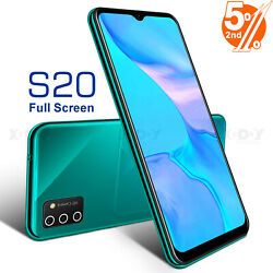 S20 2020 New Unlocked Cell Phone Android 9.0 Smartphone Dual SIM Quad Core Cheap $66.99