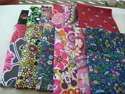 Fabric one quarter 14 yard DESIGNER Vera Bradley $7.50