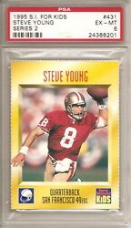 1995 Sports Illustrated for Kids II #431 Steve Young FB PSA 6 ExMt 49'ers $9.96