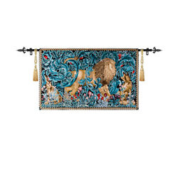 Lion Medieval Fine Art Tapestry Wall Hanging Living Room Deco SIGHT $69.99