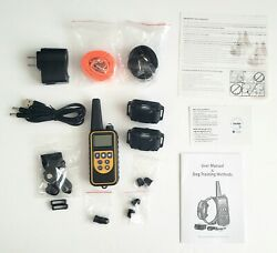 Waterproof Dog Training Electric Collar Rechargeable Remote Control 875 Yards $33.99