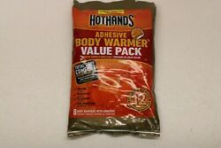 HotHands Adhesive Body Warmer Value Pack Long Lasting 8 Warmers - EXP 0722 $8.00