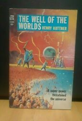 The Well Of The Worlds By Henry Kuttner ACE F 344 $2.99