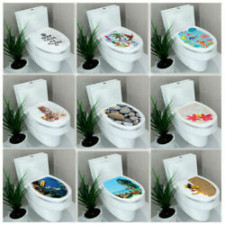 DIY Bathroom Home Toilet Seats Wall Stickers Decoration Mural tpss Decal D6G9 $5.40