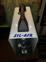 SIL-AIR 50D AL LAB SILENT COMPRESSOR SILENTAIRE TECHNOLOGY OIL LUBRICATED ITALY  $799.95