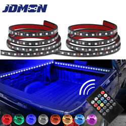 """2X 60"""" RGB LED TRUCK CARGO BED LIGHT STRIP KIT FIT FOR CHEVY FORD DODGE GMC BOAT $23.98"""