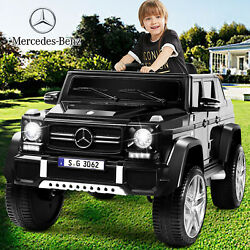 Black 12V Electric Kids Ride On Car Toy Mercedes Benz USB MP3 LED Remote Control $189.99