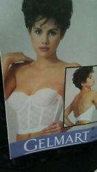 GELMART BRA 8425 STRAPLESS BUSTIER LACE LONG LINE BRA HARD TO FIND $9.99
