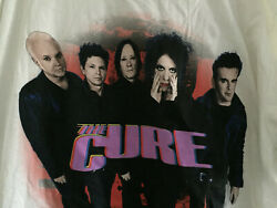 NEW The Cure Pasadena Daydream Tour T shirt Robert Smith White $105.00