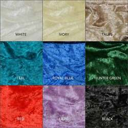 Panne Velvet Fabric  Fabric By The Yard 58