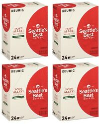 Seattle#x27;s Best Coffee Post Alley Blend Dark Roast K Cups 96 Count BBD 7 2020 $29.99