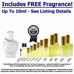 Creed Love In White DecantsSamples-Includes*FREE*Fragrance-See Below ⤵ $7.95