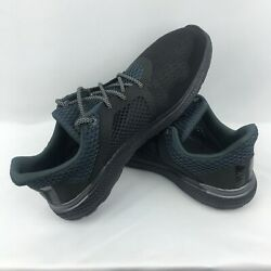 Adidas Energy Bounce 2 AQ3155 Men#x27;s Black Athletic Running Shoes size 11.5 $59.95