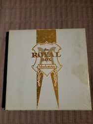 Madonna Royal Box immaculate collection complete poster vhs satin cd postcards $139.99