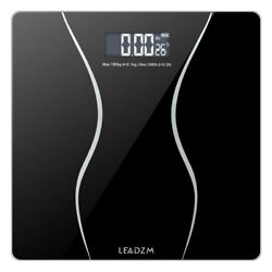 LCD Personal Scale Glass Digital Electronic Bathroom Body Weight Slim Scale $17.90
