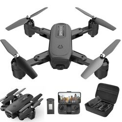 Holy Stone HS350 FPV drone with 1080P camera foldable RC quadcopter selfie +CASE $65.99