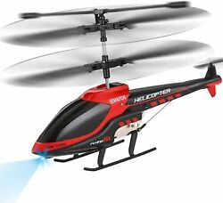 VATOS RC Helicopter Remote Control Helicopter with Gyro and LED Light 3.5 Chann $49.95
