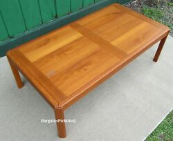 Vintage  Mid Century Danish Modern Mobile ULDUM Denmark Coffee Table $245.00